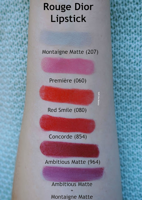 Rouge Dior 2016 Lipstick - Review, Swatches, and Look