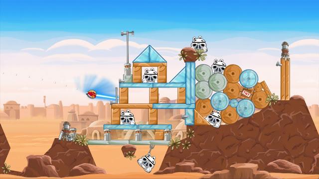 Angry Birds Star Wars - Captura 1