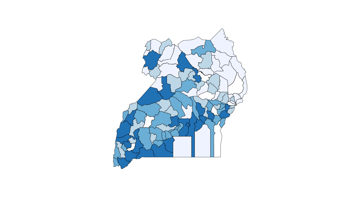 Thedatafugee: Making maps with R