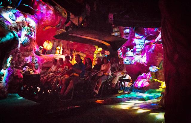 Brinquedo do E.T na Universal Studios em Orlando