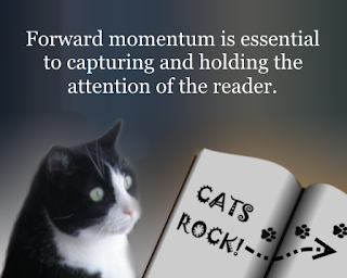 Forward momentum equals reader engagement