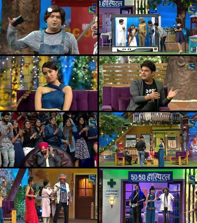The Kapil Sharma Show 05 Nov 2016 HDTV 480p 250MB