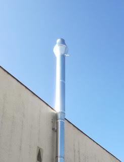 foto aumento diametro de una chimenea
