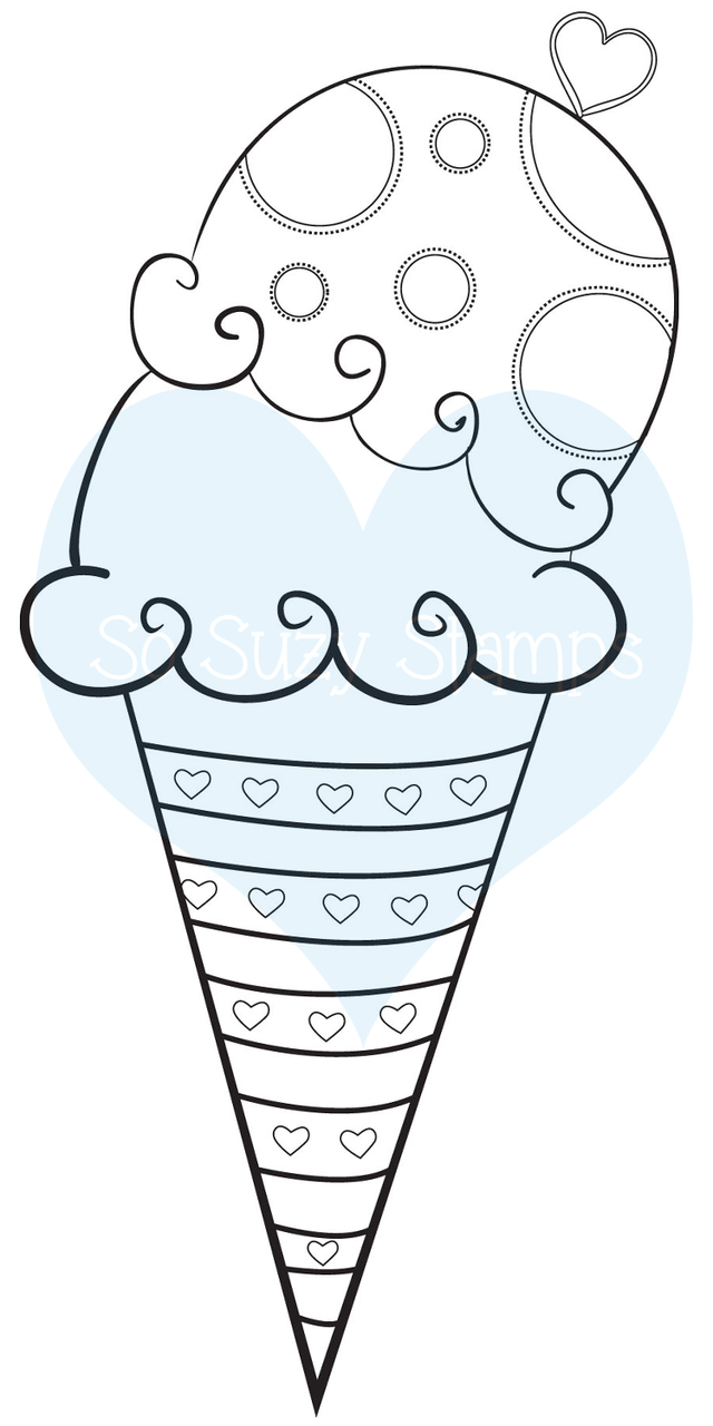http://www.sosuzystamps.com/ice-cream-sugar-cone/
