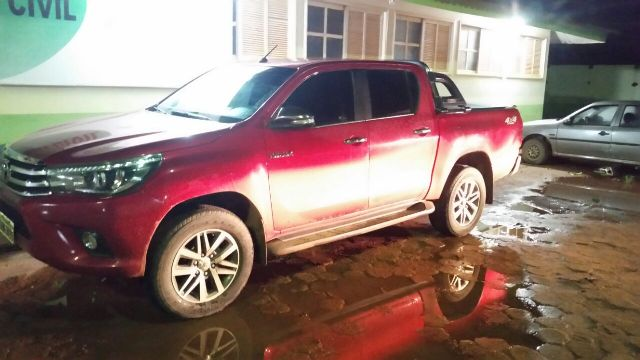 Morador de Guajará é preso pela Unesfron com caminhonete roubada