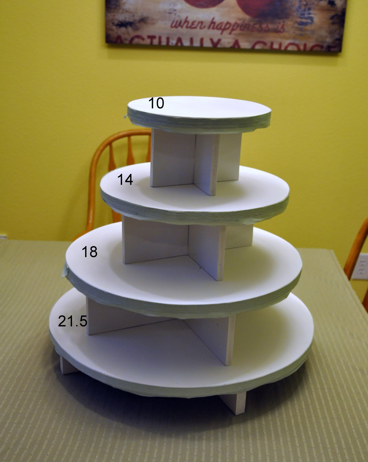 how to make a wedding cake stand out of styrofoam turning stones how to cake and cupcake stand 15898