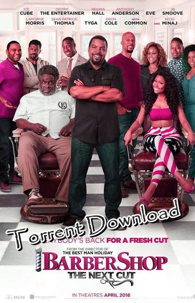 Barbershop: The Next Cut (2016) Torrent Download Full Movie HD Copy