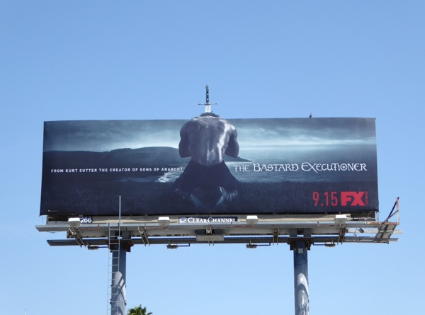 The Bastard Executioner series premiere billboard