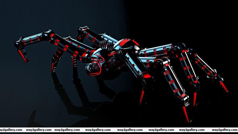 Spider robot wallpaper