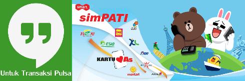 Cara Transaksi Bisnis Jualan Pulsa via Hangouts Niki Reload Server Pulsa Elektrik Online Termurah Jakarta Bandung Semarang Surabaya