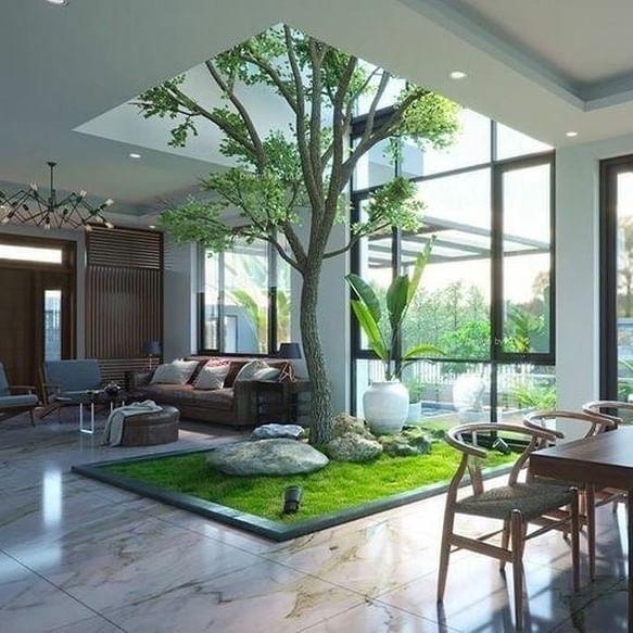Desain Interior Ruang Keluarga Mewah