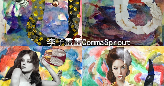 Students' Art Work - #Magazine #Collage (Nu Wa) 學生作品- #雜誌 #拼貼 #女媧 (by CommaSprout 李子話畫)