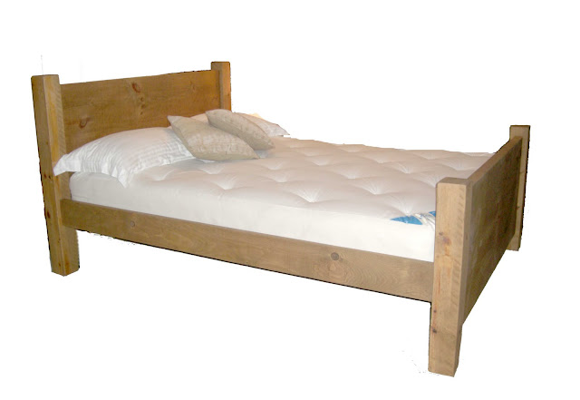 Plank Panel vegan chemical free bed