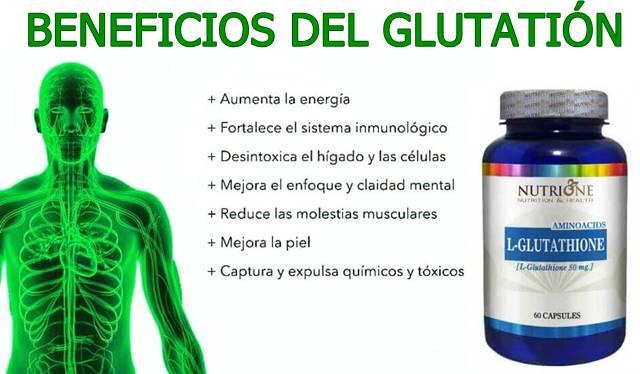 Beneficios del Glutatión para mejorar el estado de ánimo y la salud