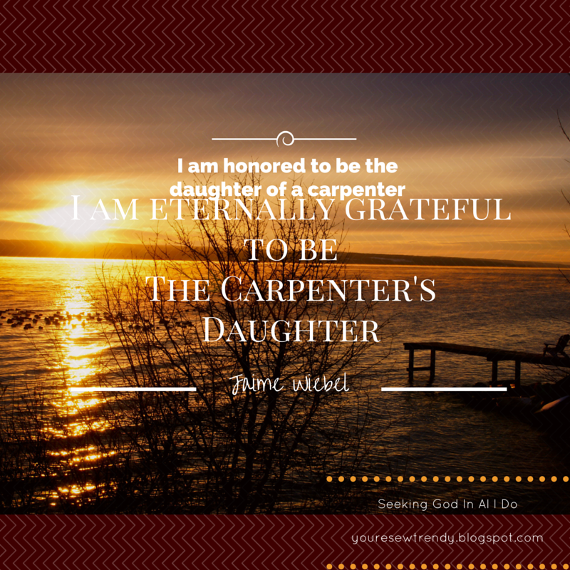 The Carpenters Daughter Seeking God With Jaime Wiebel