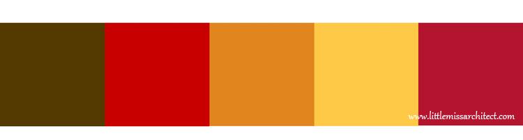 palet kolorów, paleta kolorów filmu