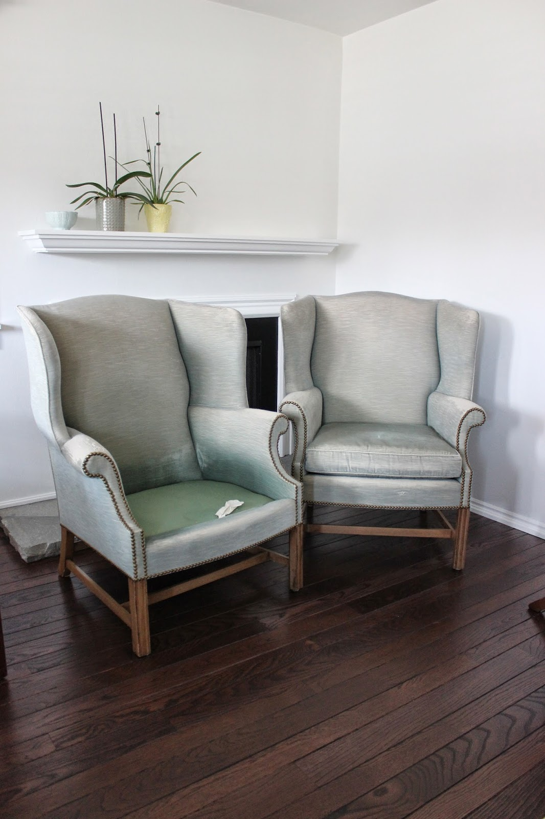Custom Slipcovers By Shelley Heavyweight White Linen