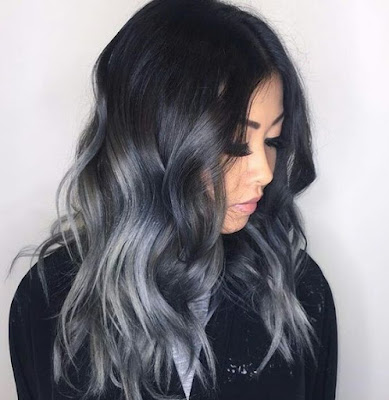 subtle gray ombre