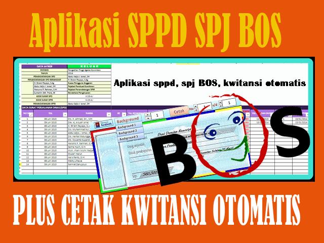 Aplikasi Sppd Spj Bos Cetak Kwitansi Otomatis Terbaru Fkops Sliyeg