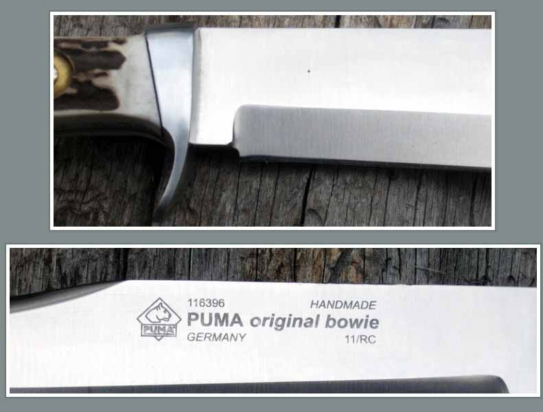 Rocky Mountain Bushcraft: REVIEW: The Puma Bowie Knife- For