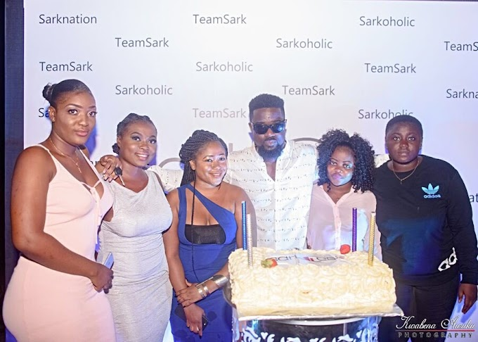 Photos &  Video: Sarkodie spoils 100 fans at SarkCess Party