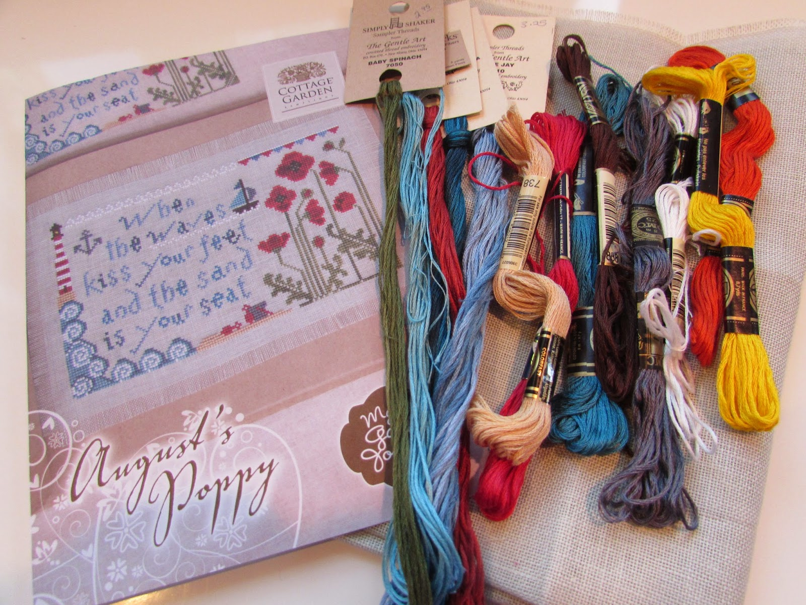Garden Grumbles and Cross Stitch Fumbles: Summer-Like Weather Summer