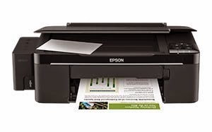 epson l200 black ink not printing