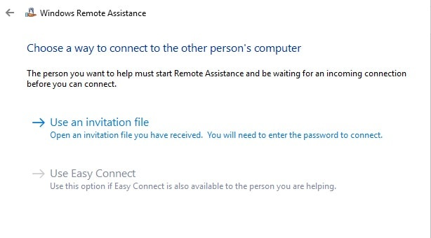 Remote Desktop Access Connect to other person's computer