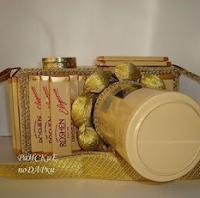 конфетный фотоаппарат на 23 февраля