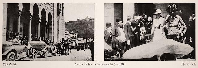 Attentat von Sarajevo  28. Juni 1914