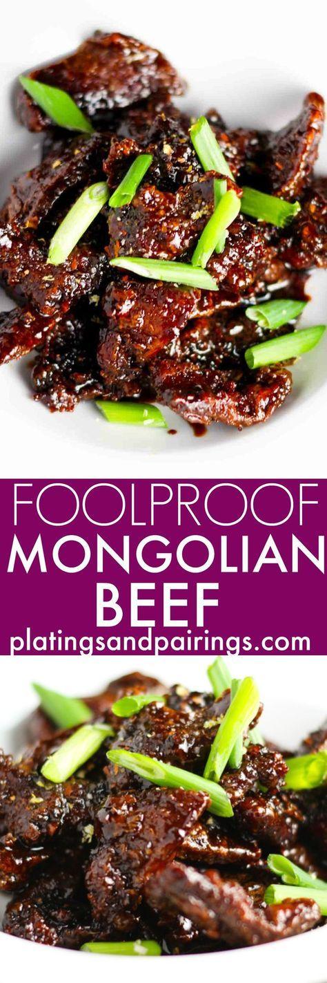 FOOLPROOF MONGOLIAN BEEF
