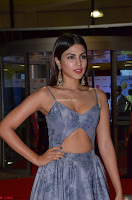 Rhea Chakraborty in a Sleeveless Deep neck Choli Dress Stunning Beauty at 64th Jio Filmfare Awards South ~  Exclusive 033.JPG