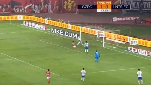 Απίστευτη χαμένη ευκαιρία στο πρωτάθλημα Κίνας (video)
