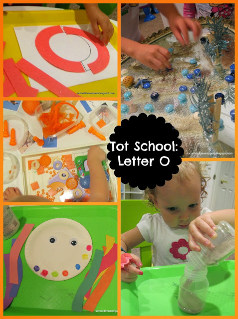 preschool alphabet activities, letter o
