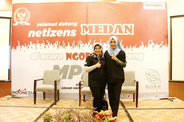 Ibu Siti Fauziah selaku Kepala Biro Humas Setjen MPR RIIbu Siti Fauziah selaku Kepala Biro Humas Setjen MPR RI