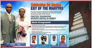 So Sad! Redeemed Church Pastor, His Wife And Five Children Killed In A Ghastly Accident, Laid To Rest Amidst Tears (Photos)
