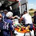 Acidente de moto deixa dois feridos na BR-405, em Uiraúna