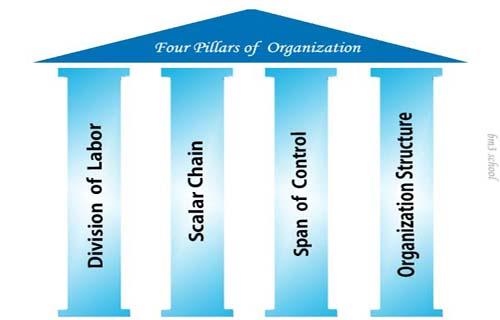 Organizing: Basic elements of organization