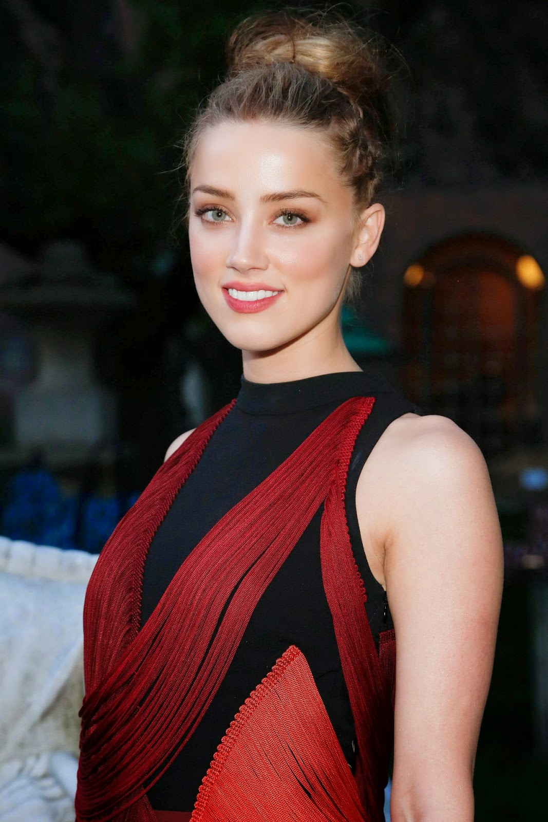 Amber Heard at the Stella McCartney Spring 2015 Presentation in NYC