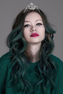 Cách pha thuốc nhuộm tóc màu xanh rêu ăn màu, bền màu nhất