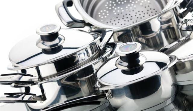 Tips Merawat Perabot Dapur Berbahan Alumunium