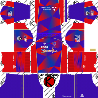 F.C. Tokyo FC東京 kits 2018 - Dream League Soccer Kits