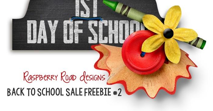 Raspberry road designs back to school freebie 2 amp sale