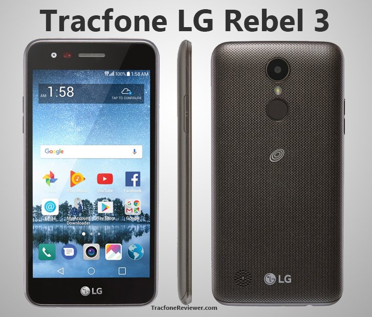TracfoneReviewer: LG Rebel 3 (L158VL/157BL) Review for Tracfone
