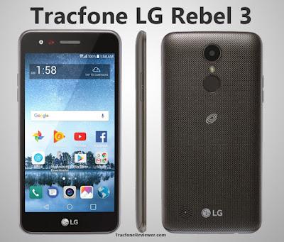 LG Rebel 3 tracfone