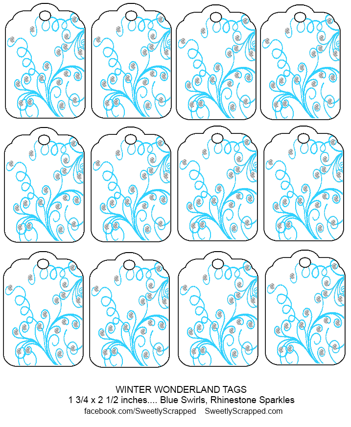 sweetly scrapped free printable winter wonderland tags. Black Bedroom Furniture Sets. Home Design Ideas