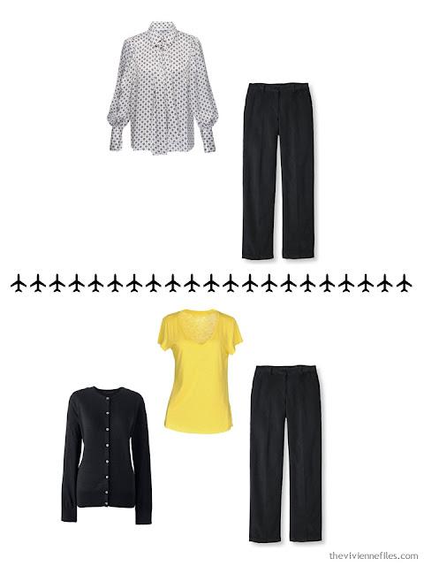 w ways to wear black trousers