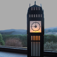 Light Up Big Ben - Cutting Thicker Cardstock