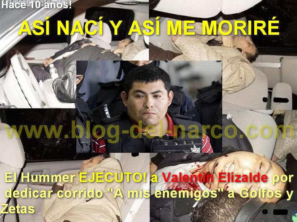"""Hoy Se cumplen 10 años de que """"El Hummer"""" diera la orden de ejecutar a Valentín Elizalde por un corrido, así fueron los últimos segundos de su vida"""