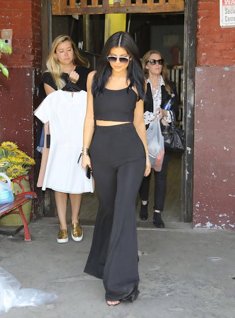 Kylie Jenner Street Fashion